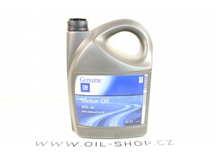 Opel GM Genuine 10W-40  5L