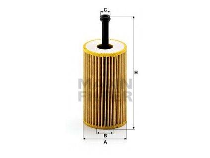 olejovy filtr mann