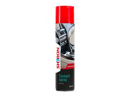 Sheron Cockpit Spray 400ml New Car