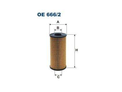 olejovy filtr filtron oe 666 2