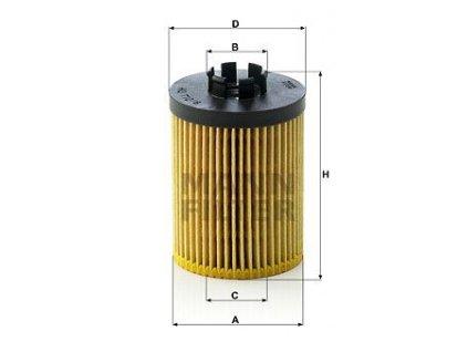 olejovy filtr mann hu712 8x mf hu712 8x opel default