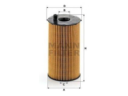olejovy filtr mann hu934 1x mf hu934 1x citroen peugeot default