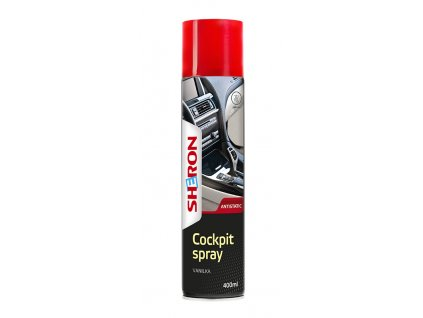 Sheron Cockpit Spray 400ml Vanilka