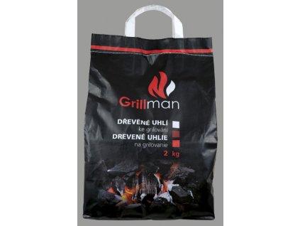 Grillman Dřevěné Uhlí 2kg