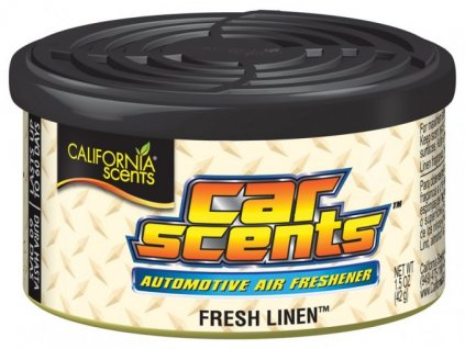 california car scents fresh linen