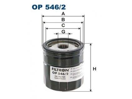 Filtron Filtr Olejový OP546/2