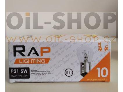 RAP Lighting 12V P21/5W