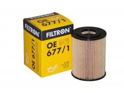 FILTRON filtr oleju OE677 1 Mercedes C E R S CDI