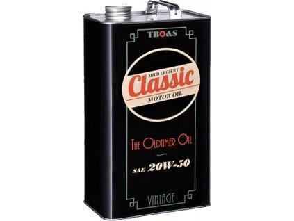 TBO Motorový Olej Classic Oil SAE 20W-50  5L