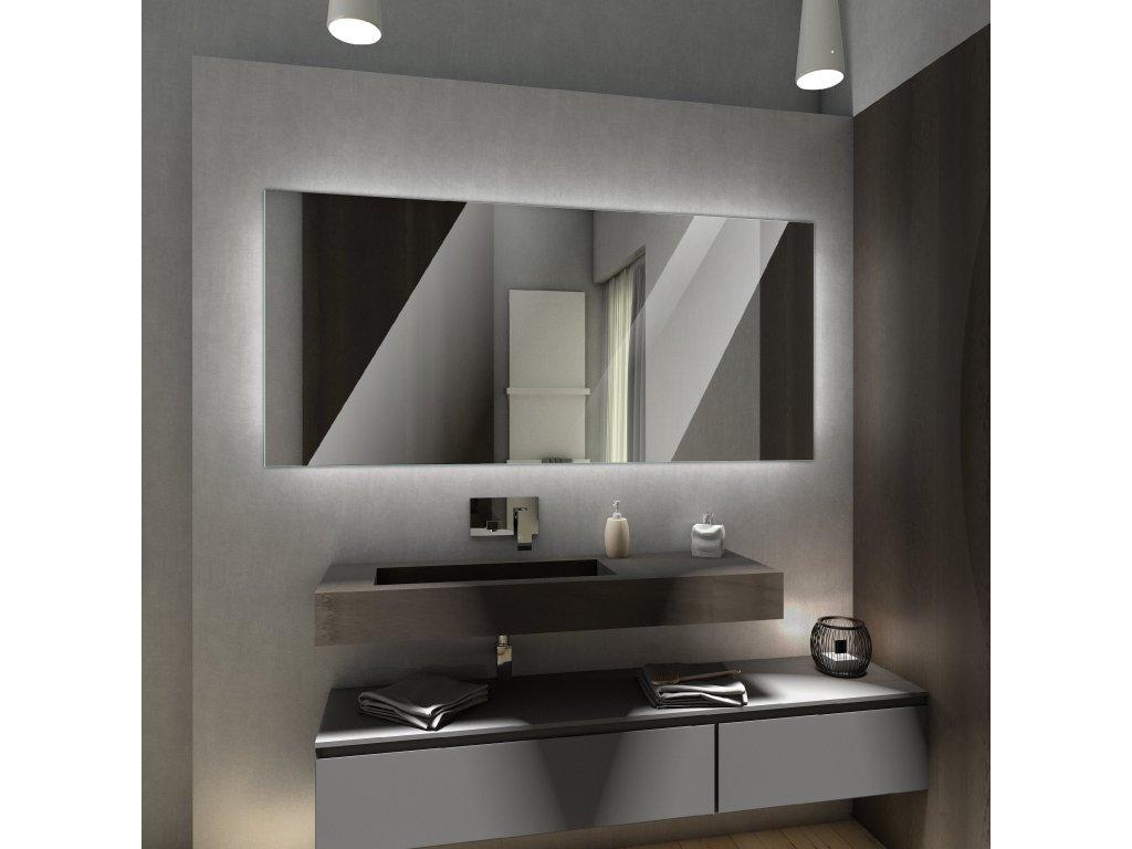 Dubai chytré zrcadlo s LED osvětlením, neutrální, teplé, studené