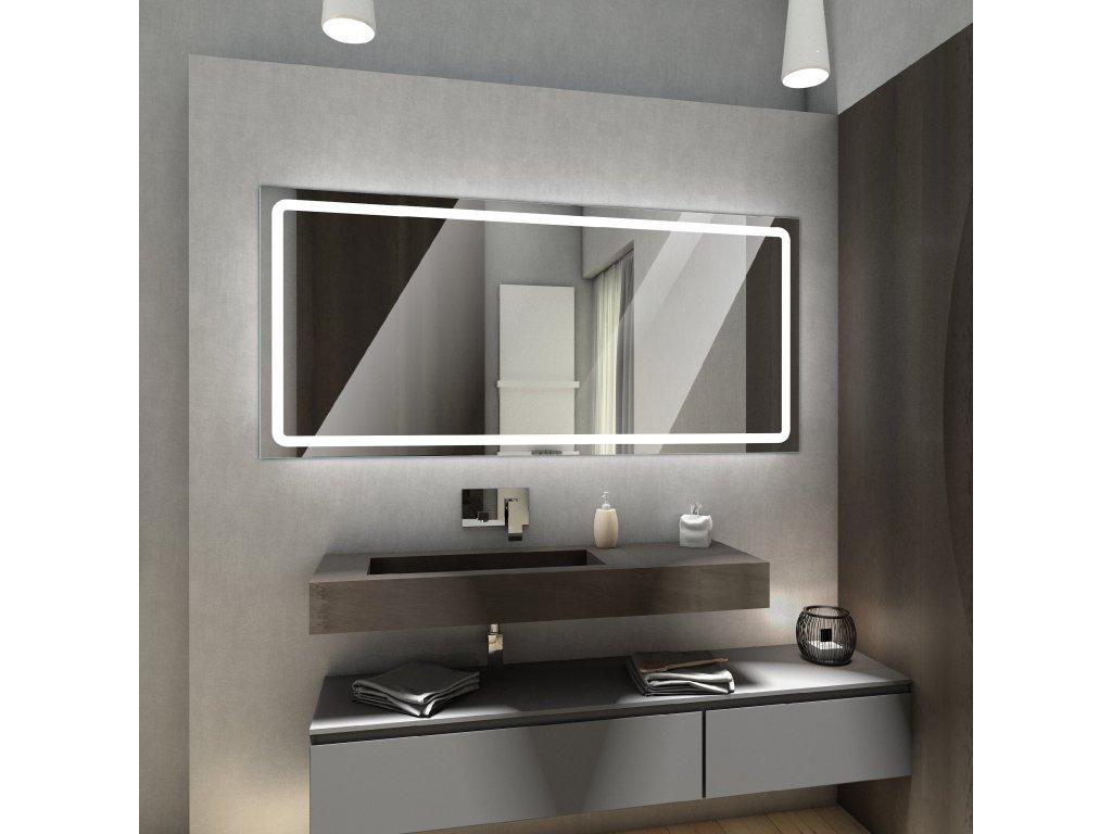 Houston chytré zrcadlo s LED osvětlením