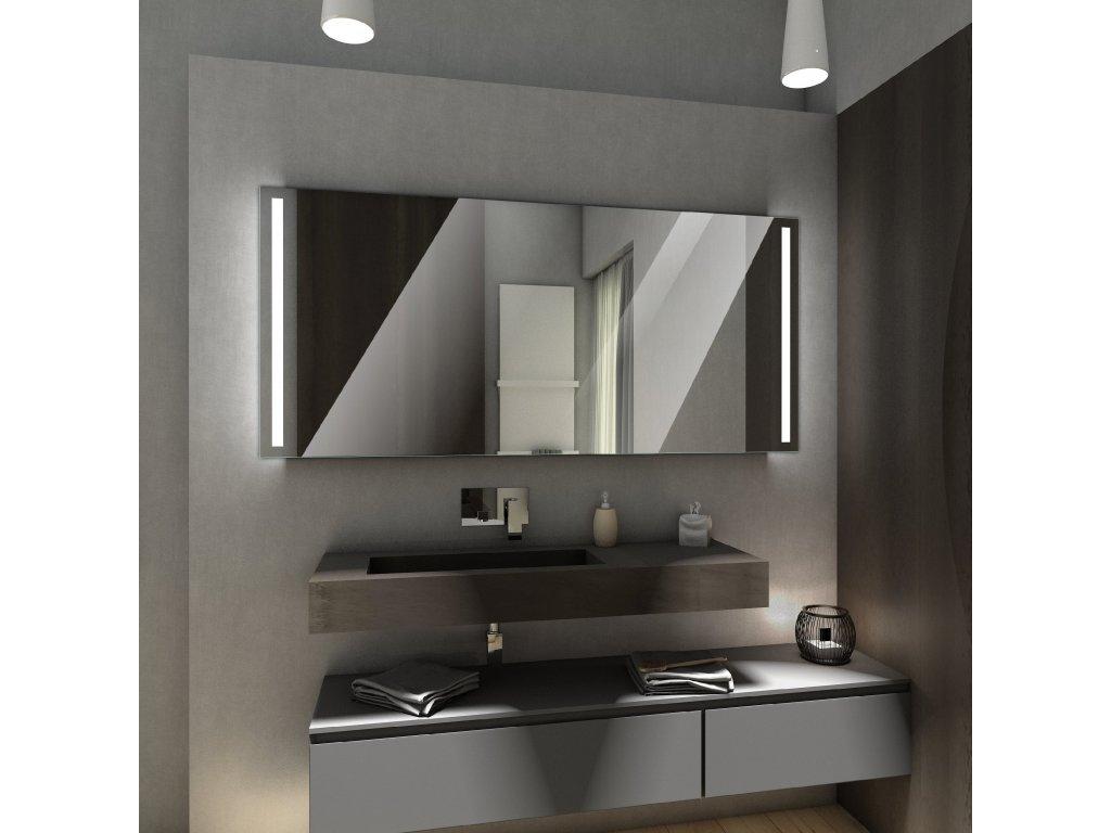 paris chytré zrcadlo s led osvětlením, zrcadlo na míru, chytré zrcadlo