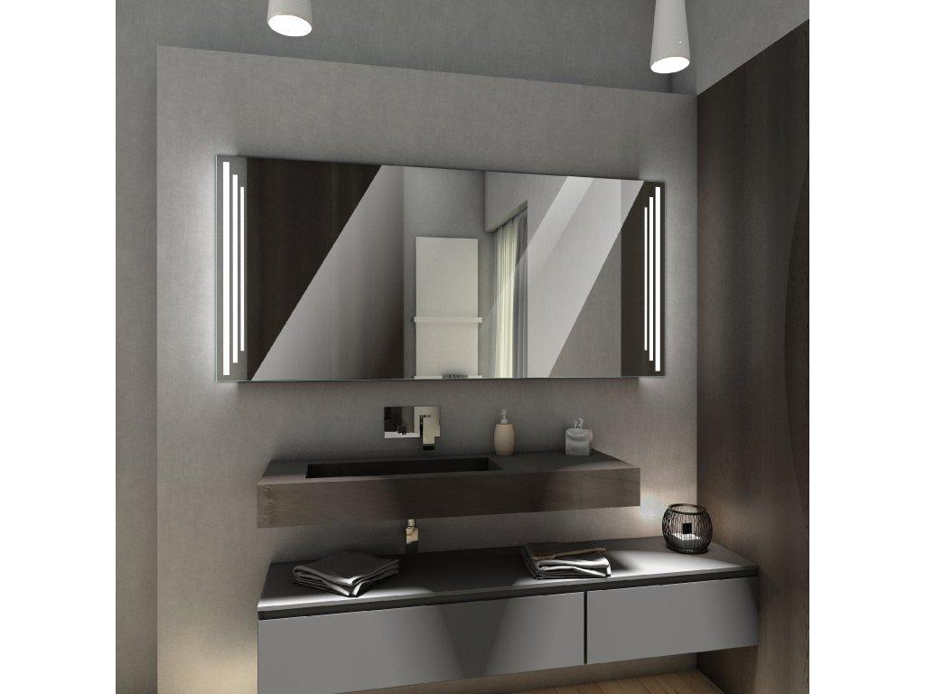 praga chytré zrcadlo na míru, zrcadlo s LED osvětlením