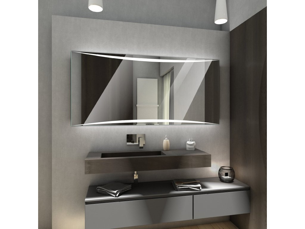 wilno chytre zrcadlo na míru, LED zrcadlo