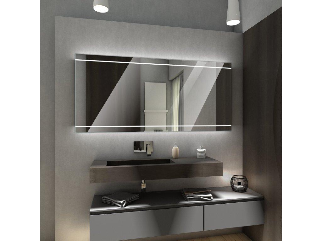 chicago chytré zrcadlo s LED osvětlením