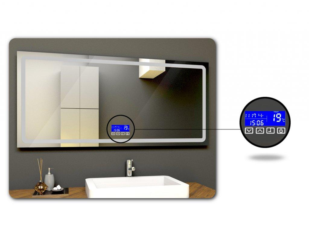 LCD kontrolní panel pro LED zrcadlo