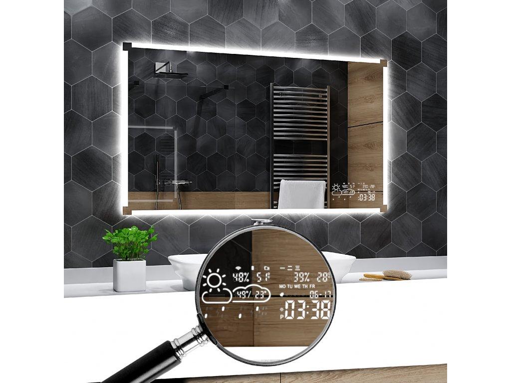 meteorologická stanice pro LED zrcadlo