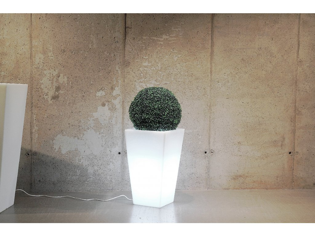 Monumo Slim Line S svítící květináč