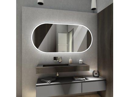 Hamburg chytré zrcadlo s LED osvětlením