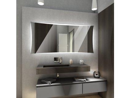 Lisbona chytré zrcadlo s LED osvětlením