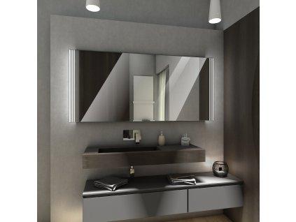 arica obdélníkové chytré zrcadlo, LED zrcadlo, zrcadlo s LED osvětlením