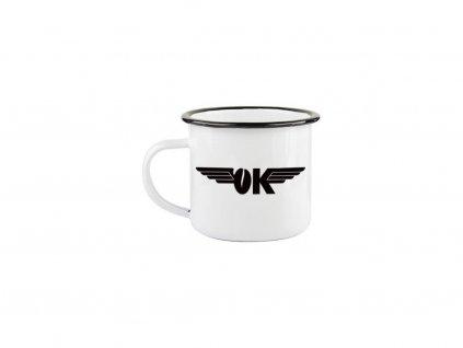 Plechový hrnek OK COFFEE