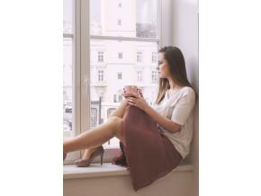 Šifonová pulkolová sukně