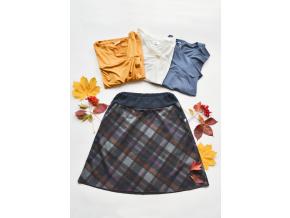 Áčková sukně Grid
