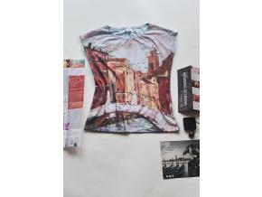 Tričko s autorským potiskem Venezia
