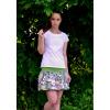 Letní balonová sukně Lovely flowers - Výprodej