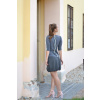 Balonová sukně Stripes grey