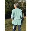 Lehký kabátek Mint and gray