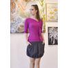 Balonová sukně Soft graphite