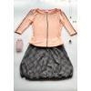 Balonová sukně Něžně ocelová - Výprodej
