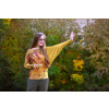 Halenka s autorským potiskem Autumn vibes (gold)