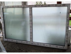 Drutex plastové okno fixní bílé 228x128+3cm Fix