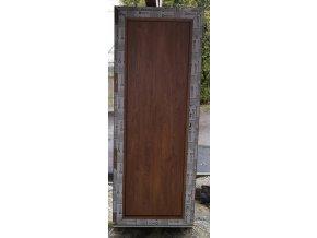 Drutex balkonové dveře otevíratelné,oboustranná klika,  winchester 78x200+3cm