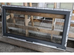 Drutex plastové okno sklopné šedé 1790x910+3cm V