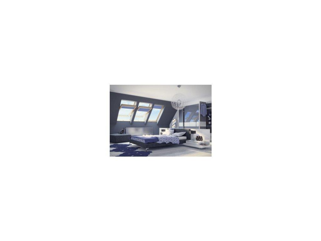 Kyvné okno FAKRO FTP-V U5 (Rozměr okna FAKRO 14 66x140 cm)