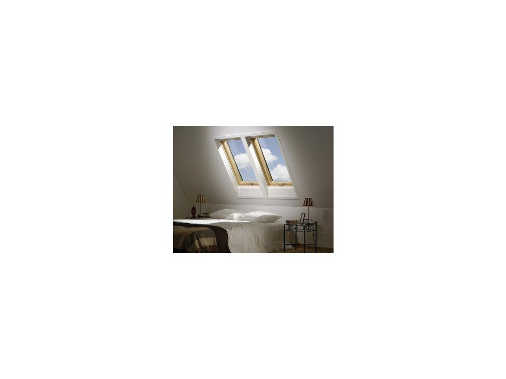 Kyvné okno FAKRO FTS U2 (Rozměr okna FAKRO 14 66x140 cm)