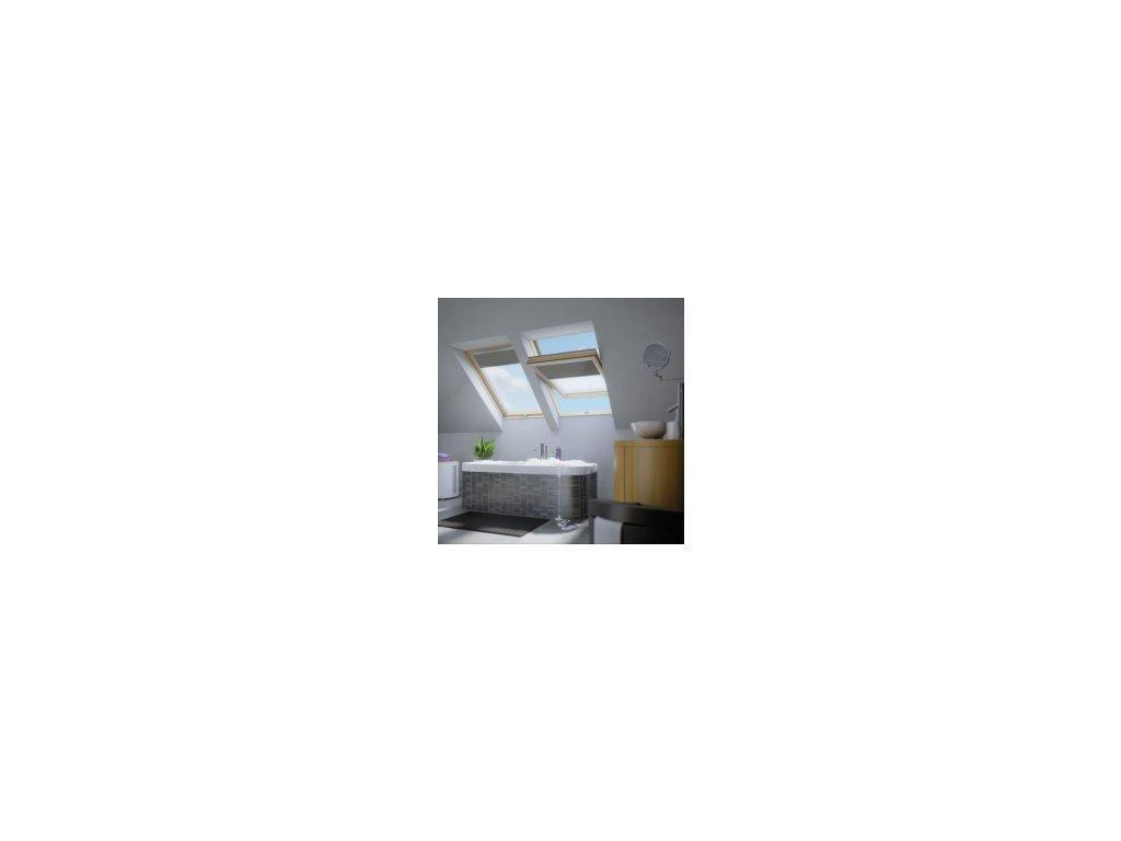 Kyvné plastové okno FAKRO PTP-V / GO U3 (Rozměr okna FAKRO 14 66x140 cm)