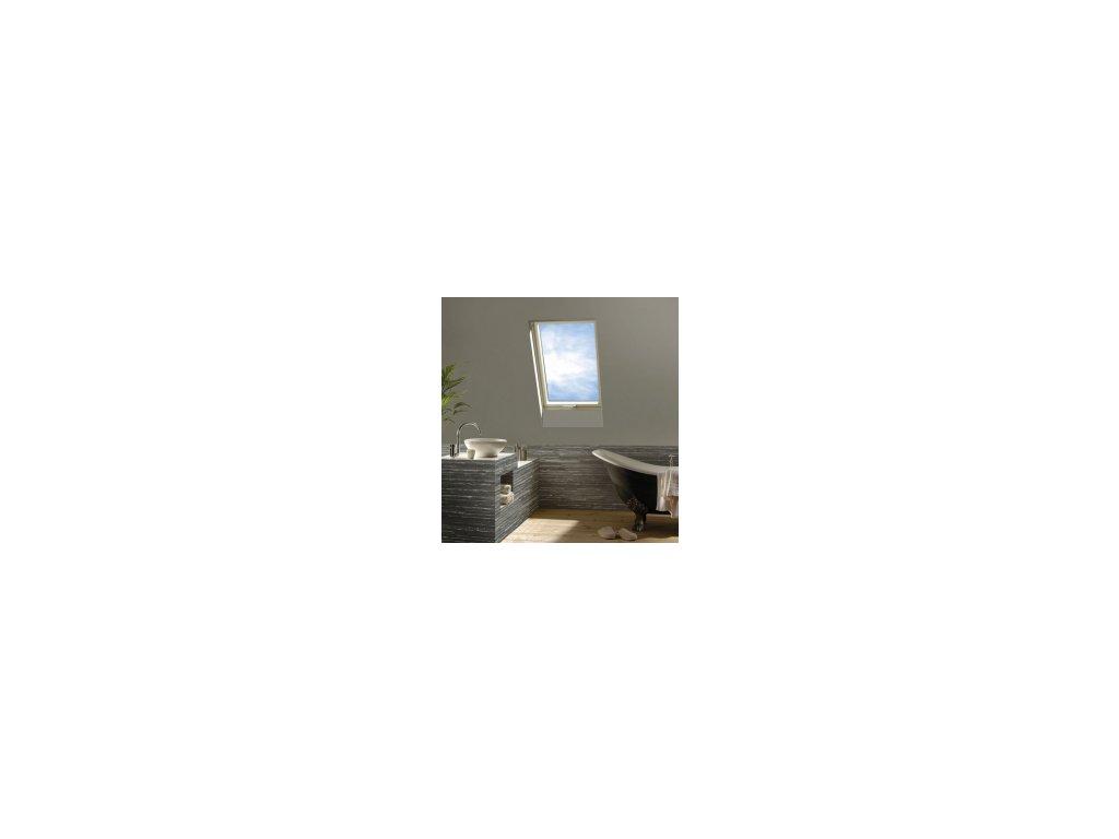 Kyvné plastové okno FAKRO PTP-V / GO U5 (Rozměr okna FAKRO 14 66x140 cm)