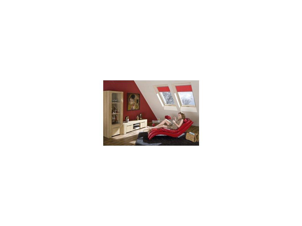Kyvné super energeticky úsporné střešní okno FAKRO FTT U8 Thermo (Rozměr okna FAKRO 14 66x140 cm)