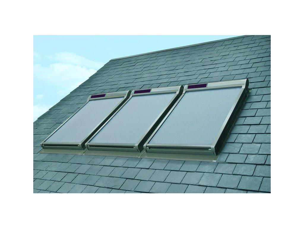 Markýza FAKRO AMZ Solar II (Rozměr okna FAKRO 14 66x140 cm)