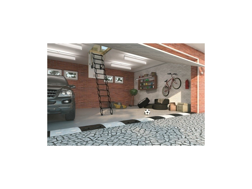 Půdní schody FAKRO LSF (Půdní schody Fakro 300 70x120 cm)