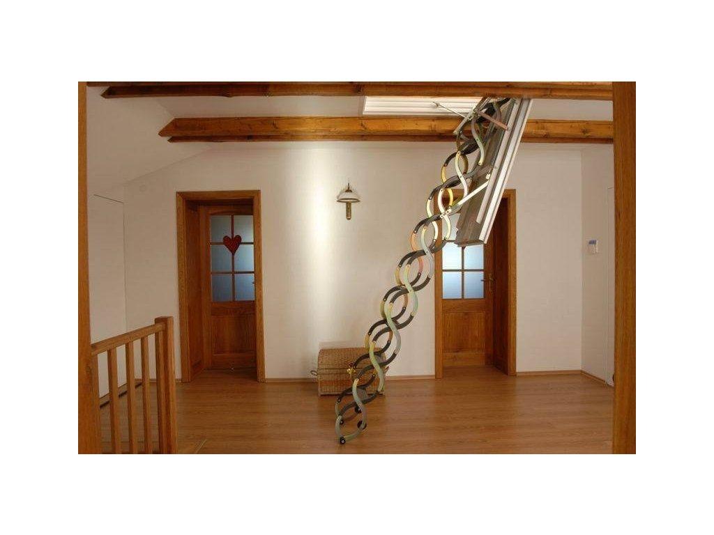 Půdní schody FAKRO LSZ (Půdní schody Fakro 280 70x120 cm)
