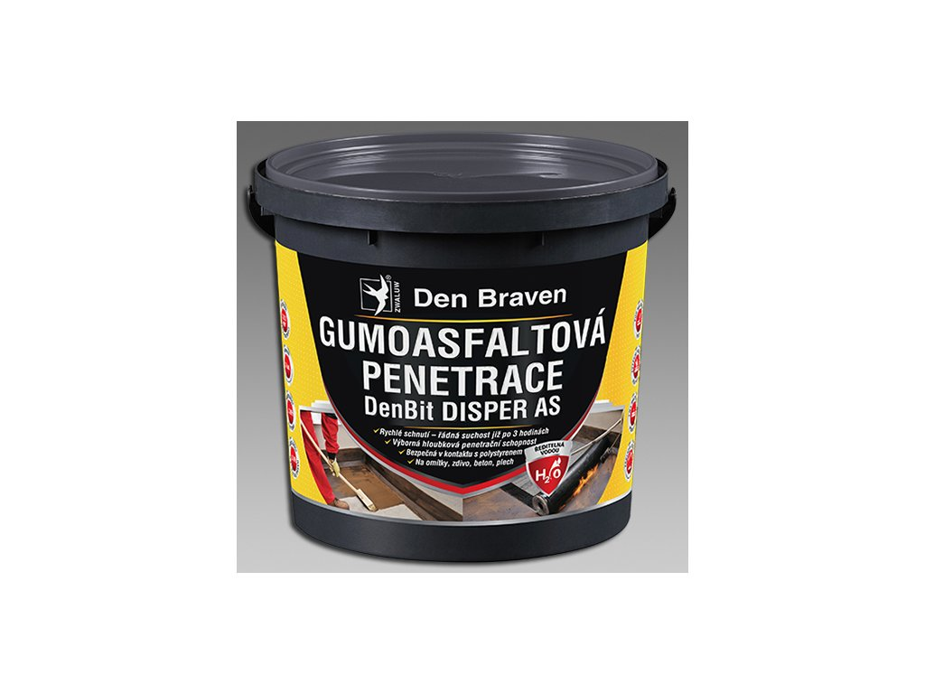 Den Braven Gumoasfaltová penetrace DenBit DISPER AS 5kg