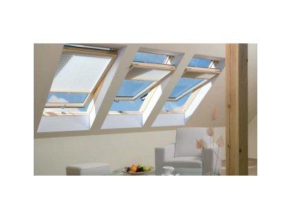 Kyvné okno FAKRO FTP-V U3 (Rozměr okna FAKRO 14 66x140 cm)