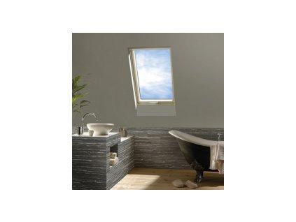 Kyvné plastové okno FAKRO PTP-V / PI U5 (Rozměr okna FAKRO 14 66x140 cm)