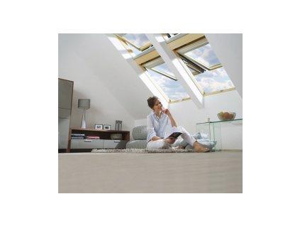 Výklopně-kyvné okno FAKRO FPP-V U3 dvojsklo (Rozměr okna FAKRO 14 66x140 cm)